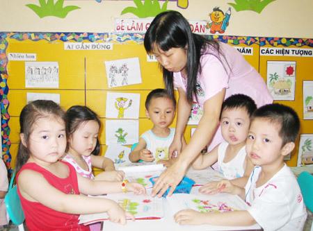 Tuyệt đối không dạy thêm ngoại ngữ cho trẻ mầm non