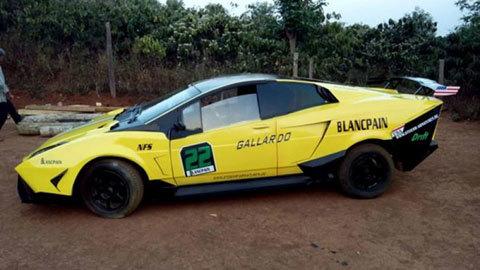 Siêu xe Lamborghini tự chế ở Đắk Nông được rao giá 130 triệu