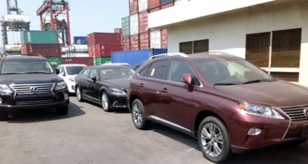 Kêu lỗ, Toyota xin giảm giá tính thuế xe sang Lexus