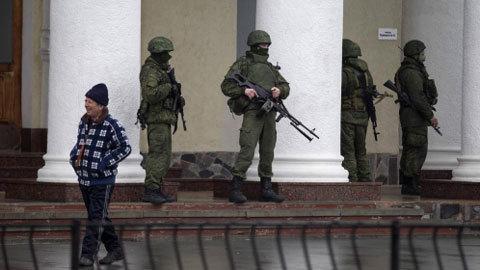 Ukraina, Crưm, Nga, tấn công