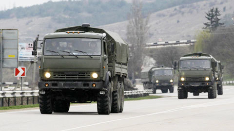 Ukraina, Crưm, Nga, tuyên chiến