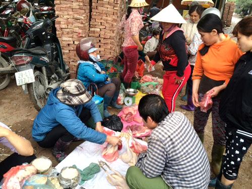 Dịch cúm về Hà Nội, dân nghèo Thủ đô ăn gà chảy nước