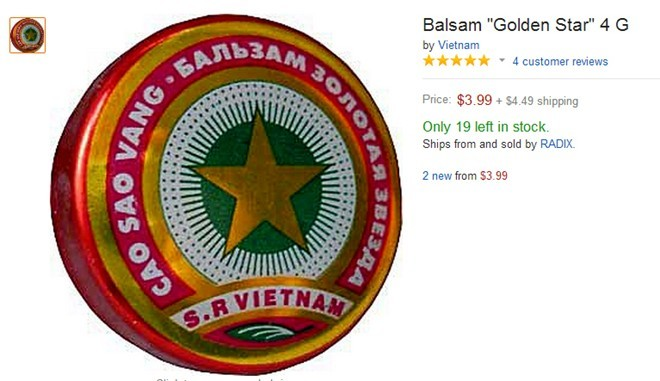 Cao Sao Vàng: Đắt gấp 10, cháy hàng trên eBay, Amazon