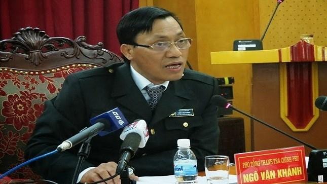 Ngô Văn Khánh, thanh tra, kê khai tài sản, công khai tài sản, tham nhũng