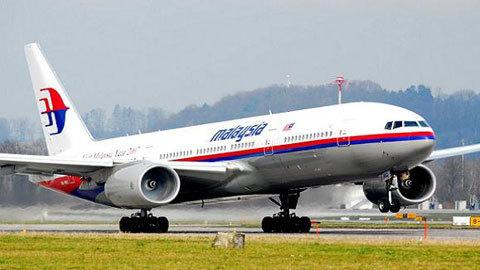 Máy bay Malaysia chở 239 người mất tích ngang không phận