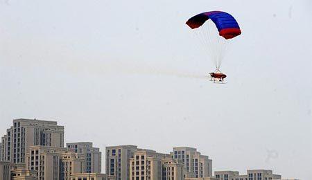 TQ điều máy bay rải hóa chất chống ô nhiễm Bắc Kinh
