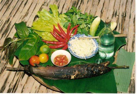 cá lóc, cá lóc nướng trui, đặc sản, miền tây nam bộ