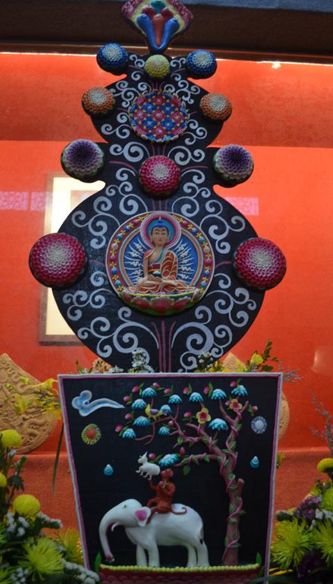 Ấn Độ, Chùa Phật tích, Mạn đà là
