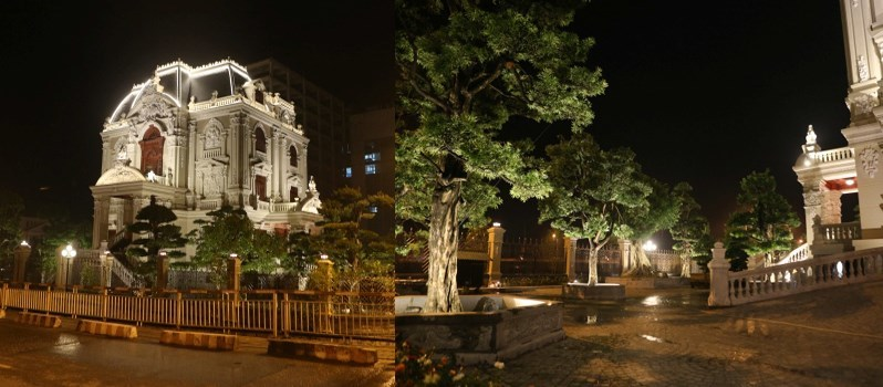 lâu-đài, dinh-thự, nhà-giàu, xài-sang, người-Việt, khoe, đất-bắc, đại-gia, Tổng-Sơn,