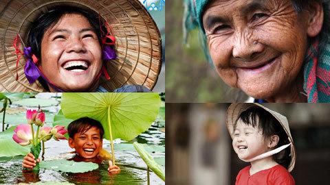 Người Việt hạnh phúc vì cười nhiều?