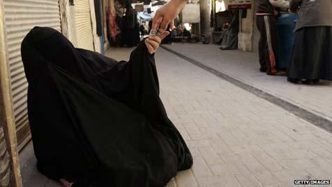 ăn mày, Ả Rập Saudi, tài sản