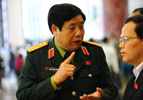 Đề xuất thêm đại tướng công an