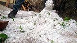 Mưa đá to như quả trứng xuất hiện ở Điện Biên