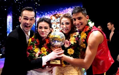 Bước nhảy hoàn vũ 2014, đăng quang, vô địch, nữ hoàng khiêu vũ, Ngân Khánh, Thu Thủy