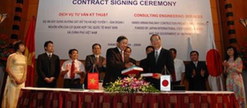 Dự án Đường sắt đô thị Hà Nội dính án hối lộ 80 triệu yên