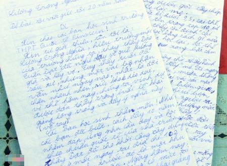 văn lạ, viết thư, 20 năm