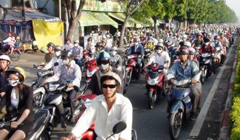 xe máy, Việt Nam, quy hoạch, đô thị, tắc đường, giao thông