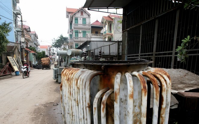 Nghĩa địa máy bay, xe quân sự ở Việt Nam