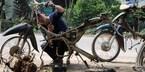 'Lò mổ' xe máy: Biến huyền thoại thành phế liệu