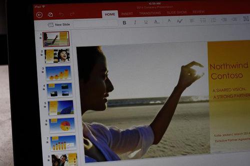 Microsoft Office, iPad