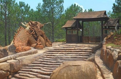Nhà đất sét có một không hai của đại gia Đà Lạt