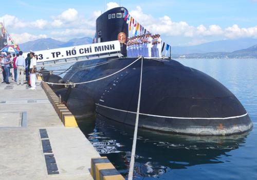 Cam Ranh, hải quân, tàu ngầm, Thủ tướng, Nguyễn Tấn Dũng, chủ quyền