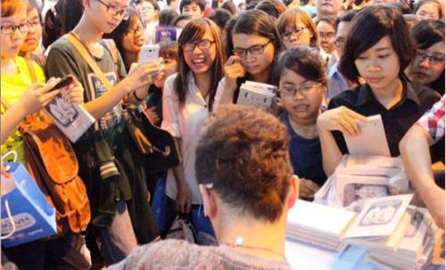 Hội sách TP.HCM lần thứ 8, Bestseller Việt, Anh Khang, Nguyễn Nhật Ánh