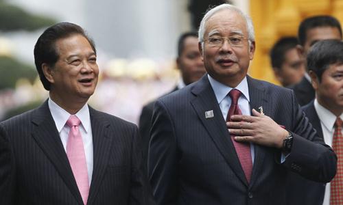 Thủ tướng Malaysia cảm ơn VN vì tìm kiếm MH370