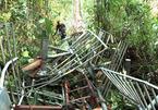 Gió lốc quật đổ cột phát sóng truyền hình huyện Bát Xát