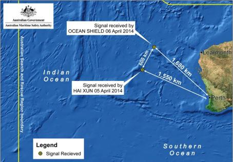 Australia phát hiện tín hiệu tương thích với MH370
