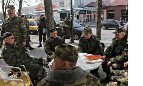 Sĩ quan Ukraina thiệt mạng tại Crưm