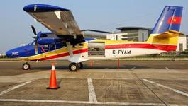 Thủy phi cơ DHC-6 thứ ba về tới Cam Ranh