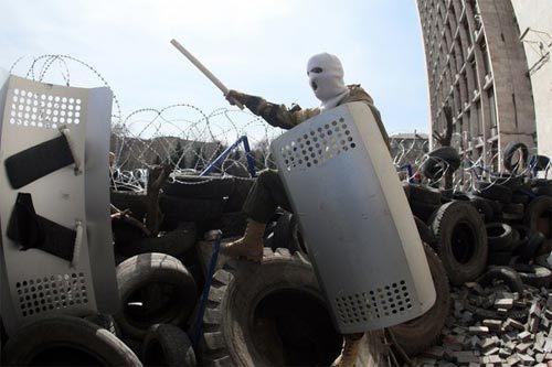 Nga, Ukraina, miền đông, Donetsk, biểu tình, bạo lực, cơn ác mộng, Kiev, Mỹ