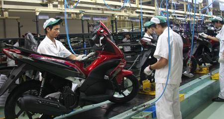 xe-máy, thị-trường, tiêu-thụ, giảm, khó-khăn, thua-lỗ, tay-ga, kinh-tế, sản-lượng, thu-nhập.