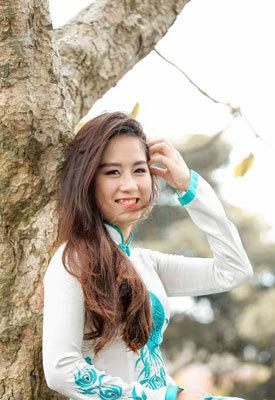 nữ sinh, áo dài, Học viện Ngoại giao, xinh đẹp