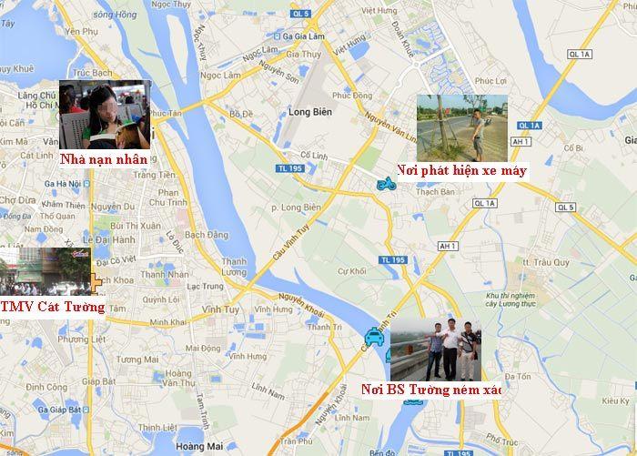 TMV Cát Tường, BS Tường, Đào Quang Khánh, thẩm mỹ viện, ném xác, chị Huyền
