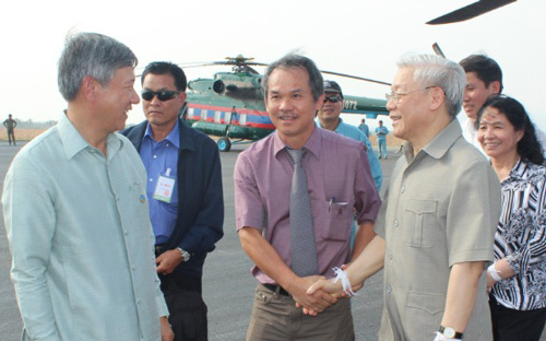 Tổng Bí thư, Nguyễn Phú Trọng, Lào, doanh nghiệp, đầu tư