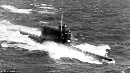 Hồ sơ giải mật: Mỹ định trộm tàu ngầm hạt nhân Liên Xô