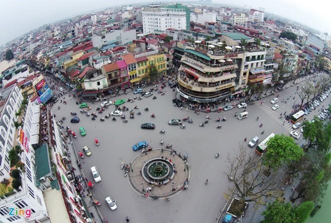 Hà Nội, Hà Nội nhìn từ trên cao, cột cờ Hà Nội, Văn Miếu