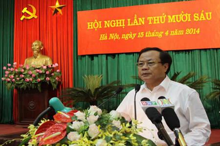 phó chủ tịch, Hà Nội, Phạm Quang Nghị