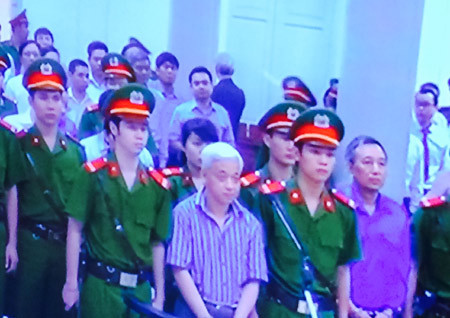 bầu Kiên, sếp ngân hàng, đồng phạm, xét xử, Hà Nội