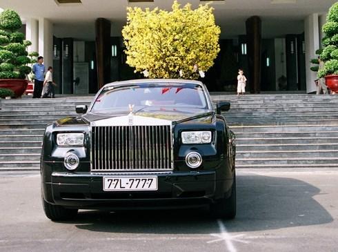 Rolls Royce, Bạch Diệp, Phantom rồng, độc nhất vô nhị