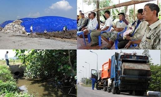 hàng trăm dân, chặn xe rác, bức bối, bãi rác, 'khổng lồ', ô nhiễm nặng, Ô Môn, Cần Thơ