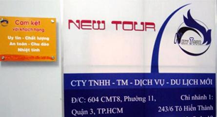 Đồng loạt tố cáo công ty du lịch 'ma' lừa đảo