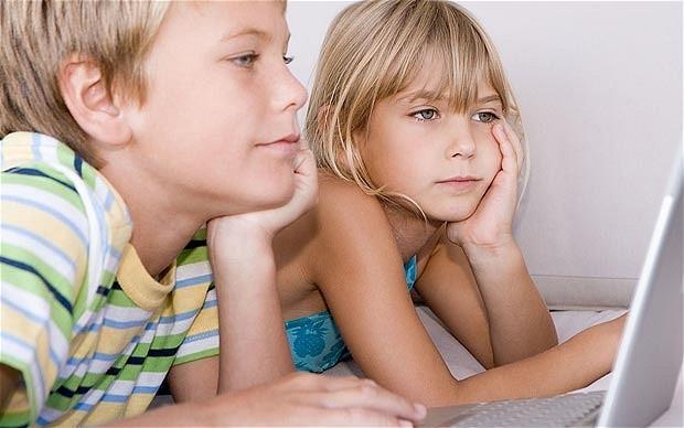 điện thoại; ảnh hưởng trẻ con