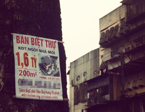 Chiêu quảng cáo lừa làm loạn giá chung cư