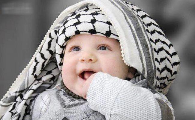 em bé, đẹp nhất, thế giới, Ả Rập