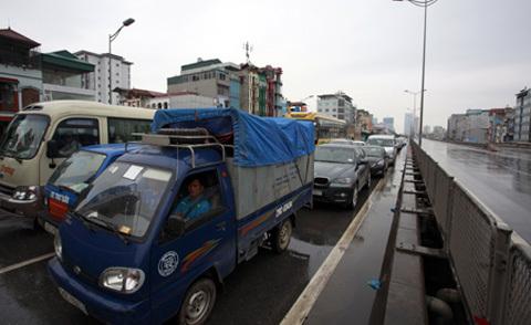 tắc đường, Pháp Vân, QL 1A, cao tốc, đường trên cao