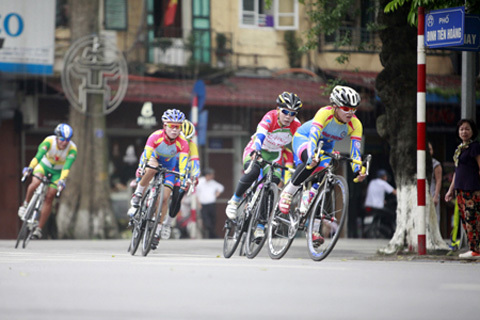 đua xe, cua rơ, Điện Biên, xe đạp