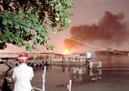 Sà lan cháy dữ dội trên sông Đồng Nai: 4 người thương vong